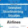 Seatplan - Stoelindeling - Sitzplane